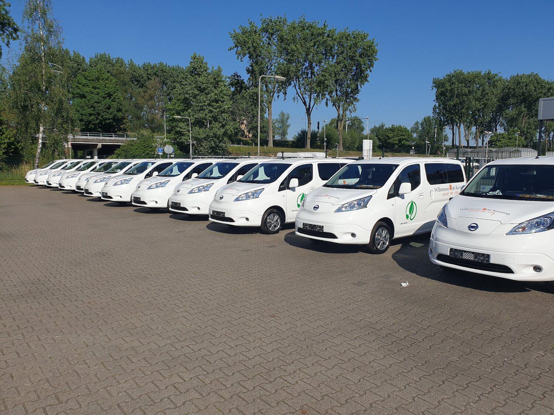 De nieuwe elektrische voertuigen van Willemsen – de Koning