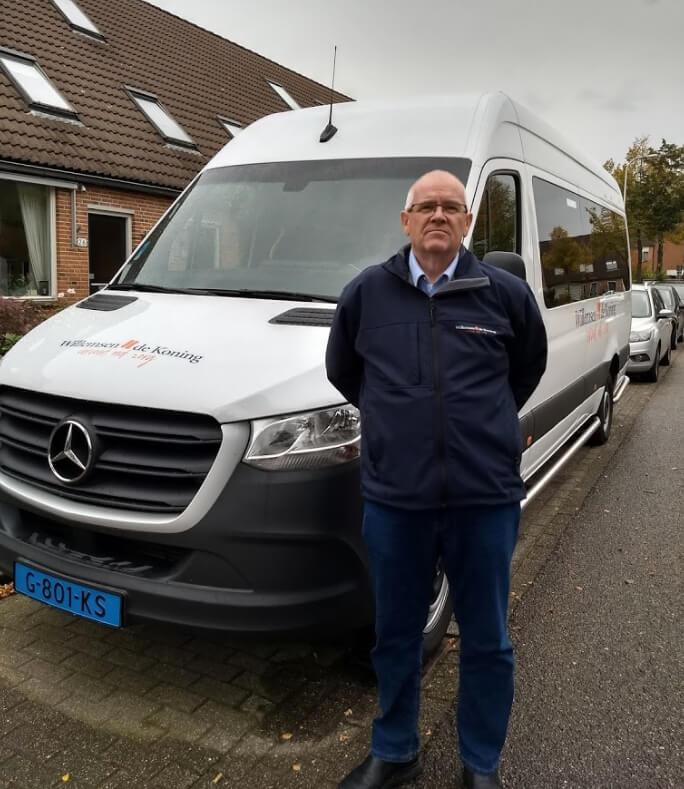 Chauffeurs zijn trots op hun werk bij Willemsen – de Koning