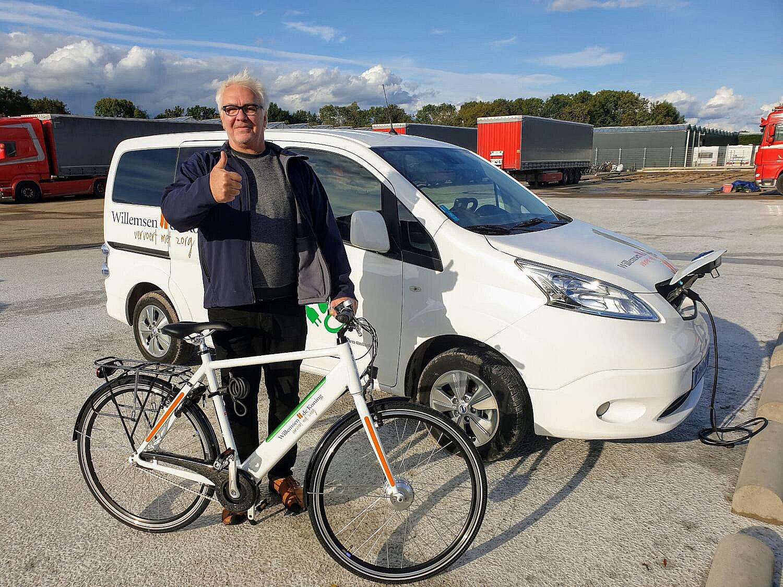 Eerste elektrische fiets uitgegeven door Willemsen – de Koning
