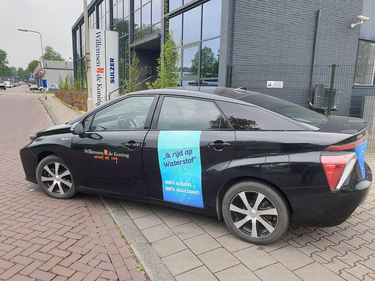 Willemsen – De Koning gaat gebruik maken van de waterstofauto!